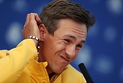 Team Europe's Thorbjorn Olesen during preview day four of the Ryder Cup at Le Golf National, Saint-Quentin-en-Yvelines, Paris.