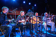 The Canebrake Rattlers on stage at the Brooklyn Folk Festival. The Rattlers, based in New York City, play traditional string band music.