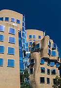 """The first building in Australia designed by one of the worlds most influential architects Frank Gehry. Its named after Dr Chau Chak Wing and described as the """" squashed paper bag"""". Its a business school at the university of technology, Sydney."""