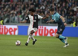 May 19, 2019 - Turin, ITA, Italy - Juan Cuadrado during Serie A match between Juventus v Atalanta, in Turin, on May 19, 2019  (Credit Image: © Loris Roselli/NurPhoto via ZUMA Press)
