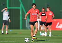 ARLAMOW, POLAND - MAY 31: Grzegorz Krychowiak during a training session of the Polish national team at Arlamow Hotel during the second phase of preparation for the 2018 FIFA World Cup Russia on May 31, 2018 in Arlamow, Poland. (MB Media)