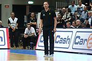Basketball: Supercup, Deutschland - Russland, Hamburg, 18.08.2017<br /> Trainer Chris Flemming (GER)<br /> © Torsten Helmke