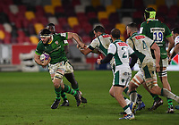 Rugby Union - 2020 / 2021 European Rugby Challenge Cup - London Irish vs Pau - Brentford Community Stadium<br /> <br /> London Irish's Matt Rogerson in action during this afternoon's game.<br /> <br /> COLORSPORT/ASHLEY WESTERN