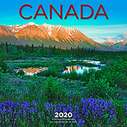 PRODUCT: Calendar<br /> TITLE: 2020 Canada<br /> CLIENT: Wyman Publsihing