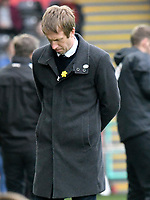 Football - 2018 / 2019 Sky Bet EFL Championship - Swansea City vs. Bolton Wanderers<br /> <br /> Swansea City manager Graham Potter looks down on the touchline, at The Liberty Stadium.<br /> <br /> COLORSPORT/WINSTON BYNORTH