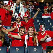 Turkey's supporters during their FIFA World Cup 2014 qualifying soccer match Turkey betwen Estonia at Sukru Saracoglu stadium in Istanbul September 11, 2012. Photo by TURKPIX