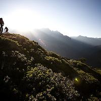 Late session, Chamonix, France.