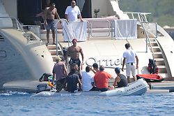 Cristiano Ronaldo and Georgina Rodriguez are seen on holiday in Formentera. 08 Jul 2017 Pictured: Cristiano Ronaldo. Photo credit: MEGA TheMegaAgency.com +1 888 505 6342