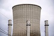 Nederland, Moerdijk, 20-2-2020  De Moerdijkcentrale bestaat uit twee warmtekrachteenheden, WKC Moerdijk I en CCGT Moerdijk II.  De centrale  is een warmte-krachtcentrale in het havengebied  industriegebied Moerdijk. In de installatie wordt met aardgas en stoom van de naastgelegen afvalverbrandingsinstallatie van Attero elektriciteit en warmte opgewekt. Foto: Flip Franssen