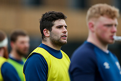 Will Capon of Bristol Bears in action during a training session - Rogan/JMP - 04/03/2021 - RUGBY UNION - Bristol Bears High Performance Centre - Bristol, England.