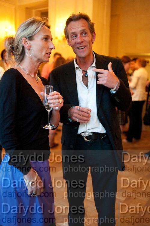 DAISY WAUGH; JOSH SHAKERLEY, Imogen Edwards-Jones - book launch party for ' Hospital Confidential' Mandarin Oriental Hyde Park, 66 Knightsbridge, London, 11 May 2011. <br />  <br /> -DO NOT ARCHIVE-© Copyright Photograph by Dafydd Jones. 248 Clapham Rd. London SW9 0PZ. Tel 0207 820 0771. www.dafjones.com.
