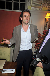 MATT HERMER owner of Boujis at a dinner in aid of the Soil Association held at Bumpkin, 102 Old Brompton Road, London SW7 on 11th March 2009.