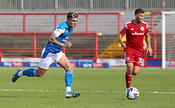 Sammie Szmodics of Peterborough United in action with Dion Charles of Accrington Stanley - Mandatory by-line: Joe Dent/JMP - 12/09/2020 - FOOTBALL - Wham Stadium - Accrington, England - Accrington Stanley v Peterborough United - Sky Bet League One