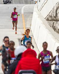 NYC Marathon, Deba drops off lead pack mile 20
