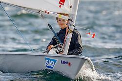 , LJM SH - Landesjüngsten- und Landesjugendmeisterschaft 01. - 02.09.2018, Laser 4.7 - GER 208273 - Anton Nikolai LOECK -  - Flensburger