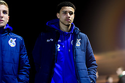Luca Hoole of Bristol Rovers arrives at Home Park prior to kick off - Mandatory by-line: Ryan Hiscott/JMP - 17/12/2019 - FOOTBALL - Home Park - Plymouth, England - Plymouth Argyle v Bristol Rovers - Emirates FA Cup second round replay