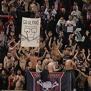 New York Red Bulls fans during the New York Red Bulls Vs Houston Dynamo, Major League Soccer regular season match at Red Bull Arena, Harrison, New Jersey. USA. 19th March 2016. Photo Tim Clayton