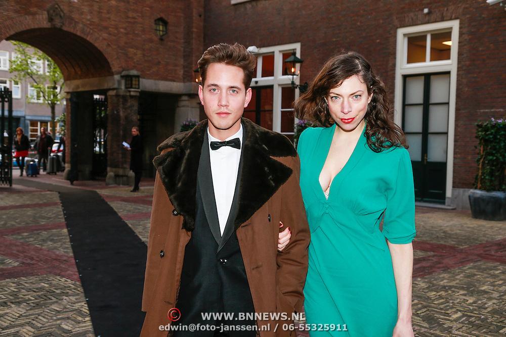 NLD/Amsterdam/20130501- Voque Queensball 2013, Hanna Bervoets en ???.