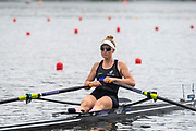 Poznan, POLAND, 21.06.19,  Friday,  NZL2 W1X, Samantha VOSS, at the start, World Rowing Cup II, Malta Lake Course, © Peter SPURRIER/Inter, sport Images, <br /> <br /> 11:53:00