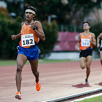 Zachary Ryan Devaraj of National University of Singapore leads the field during the men's 1500m event. (Photo © Lim Yong Teck/Red Sports) The 2018 Institute-Varsity-Polytechnic Track and Field Championships were held over three days in January.<br /> <br /> Story: https://www.redsports.sg/2018/01/15/ivp-day-one/<br /> <br /> Story: https://www.redsports.sg/2018/01/18/ivp-day-two/<br /> <br /> Story: https://www.redsports.sg/2018/01/23/ivp-day-three/