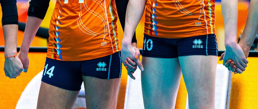 03-10-2018 JPN: World Championship Volleyball Women day 5, Yokohama<br /> Argentina - Netherlands 0-3 / hands, challenge