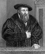 Johannes Kepler (1571-1630) German astronomer. Engraving