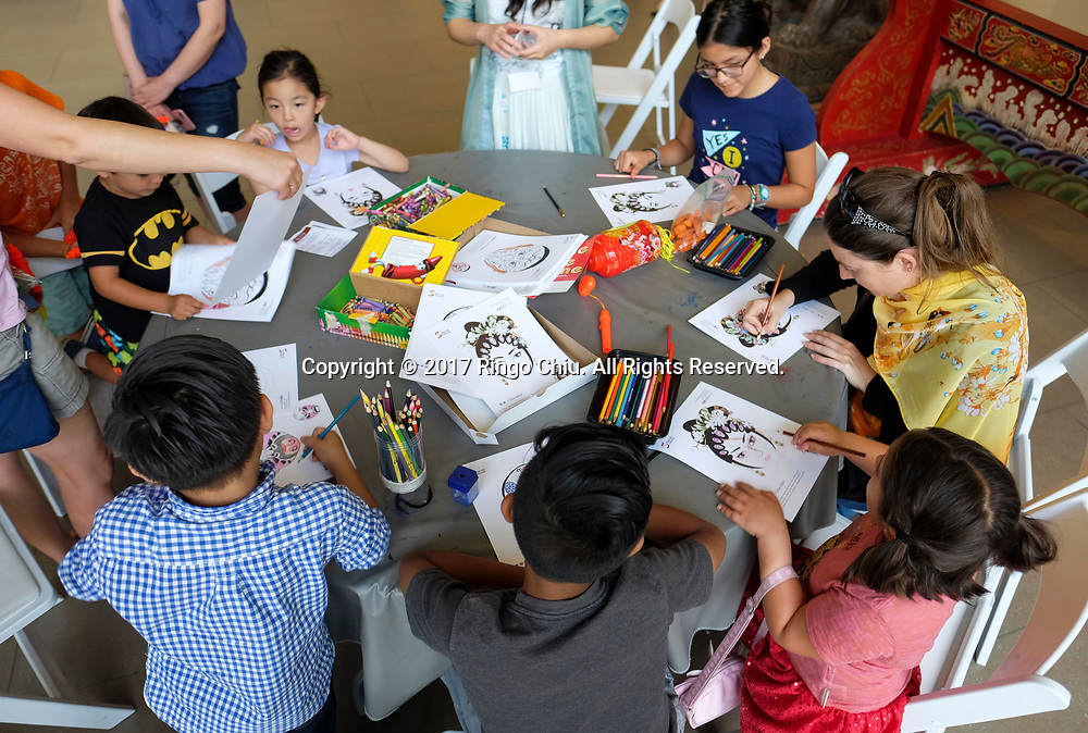 Celebrate China! SINO Cultural Day at Bowers Museum in Santa Ana, California, on Sunday July 9, 2017. (Photo by Ringo Chiu)<br /> <br /> Usage Notes: This content is intended for editorial use only. For other uses, additional clearances may be required.