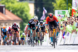 Phil BAUHAUS of BAHRAIN VICTORIOUS during the 5th Stage of 27th Tour of Slovenia 2021 cycling race between Ljubljana and Novo mesto (175,3 km), on June 13, 2021 in Slovenia. Photo by Matic Klansek Velej / Sportida