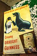 Guinness beer sign, Wordie House