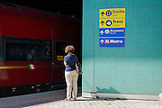 Stazione ferroviaria Tiburtina, Roma 29 settembre 2016. Christian Mantuano / OneShot<br /> <br /> Tiburtina train station in Rome, September 29, 2016. Christian Mantuano / OneShot