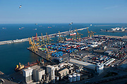 The Port of Barcelona is seen in Spain, on Monday, June 10, 2013.  Photographer: Víctor Sokolowicz/Bloomberg.