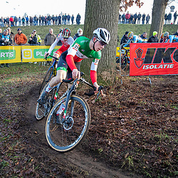 26-01-2020: Wielrennen: Wereldbeker Veldrijden: Hoogerheide <br />Davide de Pretto