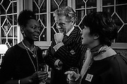 BARONESS FLOELLA BENJAMIN; KEITH TAYLOR; THE DUCHESS OF BUCCLEUCH, , The Walter Scott Prize for Historical Fiction 2015 - The Duke of Buccleuch hosts party to for the shortlist announcement. <br /> The winner is announced at the Borders Book Festival in Scotland in June.John Murray's Historic Rooms, 50 Albemarle Street, London, 24 March 2015.