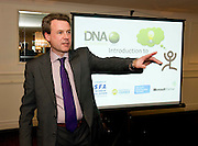 """Syl Cotter, DNA IT Solutions at the CIMA """"Cloud computing and your business """"    seminar in Hotel Meyrick Galway. Photo:Andrew Downes"""