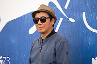 Director Kim Jee-woon at the The Age Of Shadows film photocall at the 73rd Venice Film Festival, Sala Grande on Saturday September 3rd 2016, Venice Lido, Italy. Photography: Doreen Kennedy