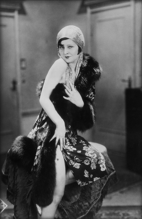 "Lilian Harvey, actress and singer, in ""Her Dark Past"", 1928"