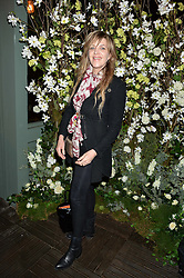 MARTHA FIENNES at The Ivy Kensington Brasserie International Women's Day & Terrace Launch Party held at The Ivy Kensington Brasserie, 96 Kensington High Street, London on 8th March 2016.