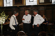 MARK LENNOX-BOYD, LORD HESELTINE AND ANDREW MITCHELL. ( SHADOW SEC STATE)Fund for Refugees in Slovenia Gala Dinner, The Great Hall. Royal Hospital. Chelsea. 12 June 2006. ONE TIME USE ONLY - DO NOT ARCHIVE  © Copyright Photograph by Dafydd Jones 66 Stockwell Park Rd. London SW9 0DA Tel 020 7733 0108 www.dafjones.com