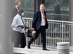 © Licensed to London News Pictures. 10/09/2020. London, UK. Lord DAVID FROST arrives at The Department for Business, for  a meeting with MICHEL BARNIER following a new round of negotiations between the UK Government and the EU begin. British Prime Minister Boris Johnson has threatened to overwrite parts of the EU withdrawal agreement signed with Brussels last October. Photo credit: Ben Cawthra/LNP