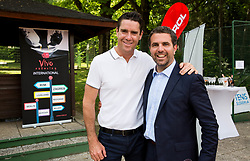 Gregor Krusic and Tomaz Jontes at Petrol VIP tournament 2018, on May 24, 2018 in Sports park Tivoli, Ljubljana, Slovenia. Photo by Vid Ponikvar / Sportida