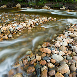 The Saco River in Bartlett, New Hampshire.