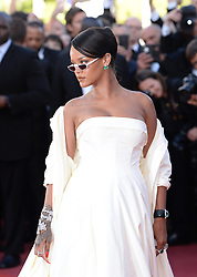 Rihanna attending the Okja premiere as part of the 70th Cannes Film Festival. Photo credit should read: Doug Peters/EMPICS Entertainment