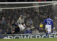 Jay Demerit scores.<br /> Ipswich Town v Watford, Coca-Cola Championship. 22/01/05. Picture by Barry Bland
