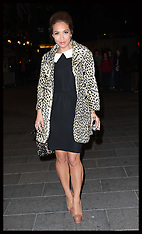 OCT 15 2012 Myleene Klass out and about in London