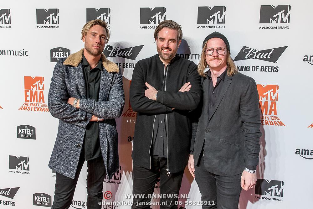 NLD/Amsterdam/20191028 - MTV Pre Party in Amsterdam, Kensington