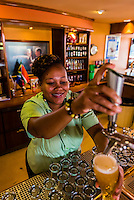 The Tap Room, An interactive tour through the history of beer at SAB (South African Breweries) World of Beer, Johannesburg, South Africa. SAB is a subsidiary of SABMiller, the world's second largest brewer. Its brands include Fosters, Grolsch, Miller, Peroni and Pilsner Urquell.