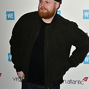 Tom Walker Arrivers at WE Day UK at Wembley Arena, London, Uk 6 March 2019.