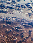 This image of clouds over the southern Indian Ocean. July 23, 2007.
