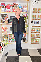 TAMARA BECKWITH at a party to launch Biscuiteers Fashion Biscuit Collection inspired by Alice Naylor-Leyland's wardrobe held at Biscuiteers, 194 Kensington Park Road, London W11 on 23rd June 2015.