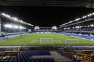 a General view inside the Goodison Park Stadium. Barclays Premier League match, Everton v Newcastle United at Goodison Park in Liverpool on Wednesday 3rd February 2016.<br /> pic by Chris Stading, Andrew Orchard sports photography.